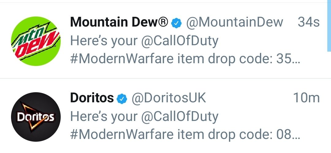 Just got sent 2 codes for the #DoritosDewDrop who wants one? <br>http://pic.twitter.com/ycHGGK7IwF