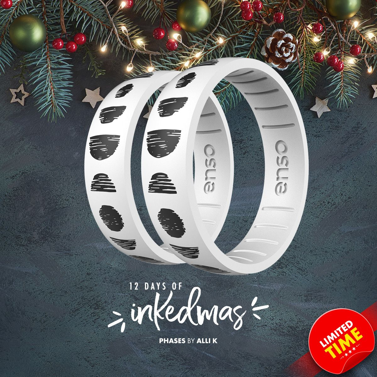On the ninth day of #INKEDmas Enso Rings gave to me ... a Phases ring by @allikdesign.   https://t.co/2Ph90Frrf1 https://t.co/aEZiFSOZBh