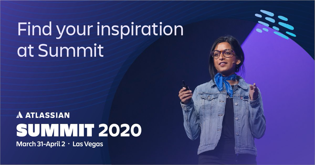 Looking for inspirational stories on the potential of teamwork? Want to get in-depth training on popular Atlassian products? Join us in Vegas for Summit 2020. Book your tickets now for Early Bird pricing! ow.ly/7nTb50xvEj4 #AtlassianSummit