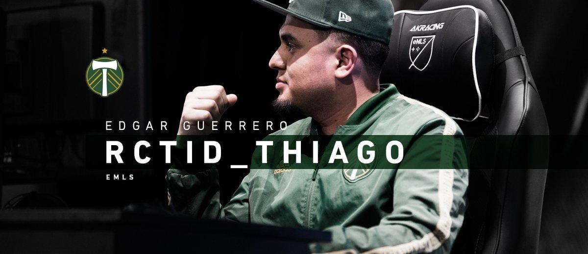"Portland Timbers re-sign Edgar ""RCTID_Thiago"" Guerrero for 2020 eMLS season #GoTimbers  https://fanly.link/72dfc5deb2"