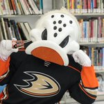 Image for the Tweet beginning: Get your @AnaheimDucks library card