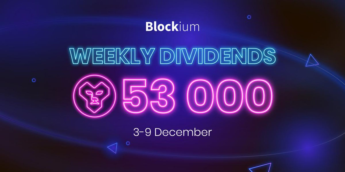 Tweet by @Blockium_io