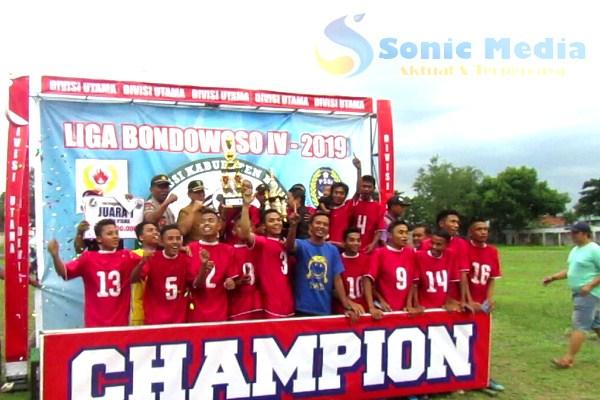 Bimantara Cindogo Juara 1 Divisi Utama Liga Bondowoso IV2019 https://t.co/3mSZXINaKk https://t.co/d52HW08Jir