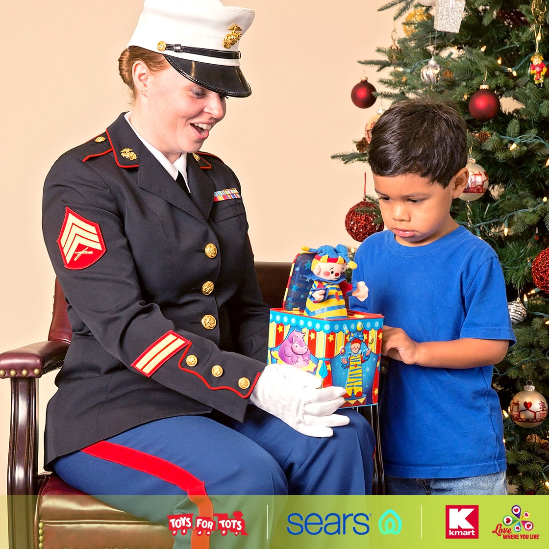 We think every child deserves a magical holiday. And we're making that happen. Donate at your local @Sears checkout or purchase and donate a toy at your @Kmart store.