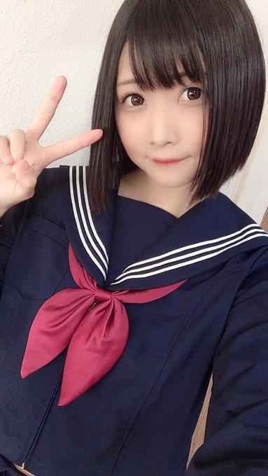 AV女優山井すずのTwitter自撮りエロ画像5