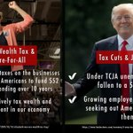 Image for the Tweet beginning: Whose tax policy makes more