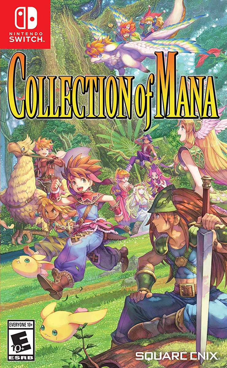 Collection of Mana for #NintendoSwitch is on sale for $24.65 on Amazon. https://amzn.to/345izb8
