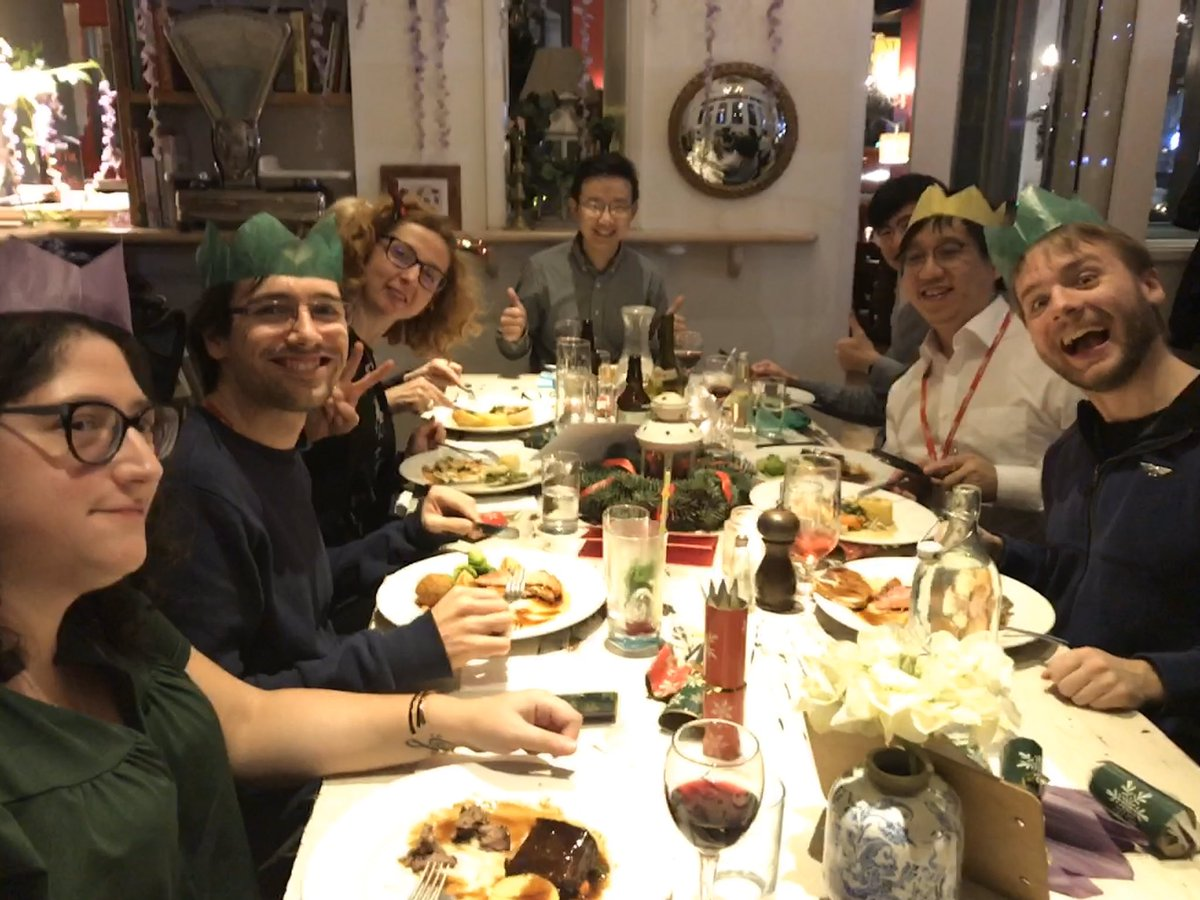 Timothy Constandinou On Twitter Group Christmas Dinner 2019 Imperialngni Nice To Have The Team Together Thank You To All For Your Contributions Each And Every Day Https T Co Je6j8o4xrl