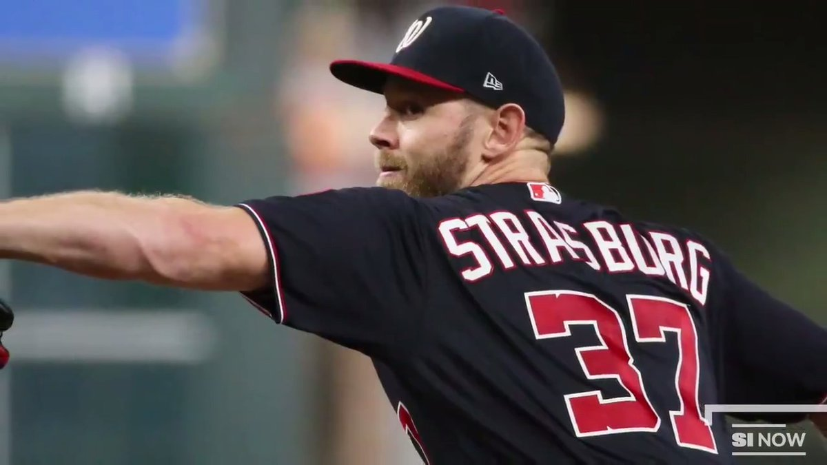 Stephen Strasburg inked a lucrative seven-year, $245 million deal to stay with the Nationals.  The World Series MVP's contract will give him the highest AAV for a pitcher in MLB history http://go.si.com/XHqnGAy