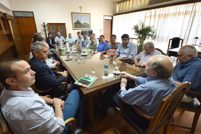 #Provinciales | Verna se reunió oficialmente por última vez con su gabinete