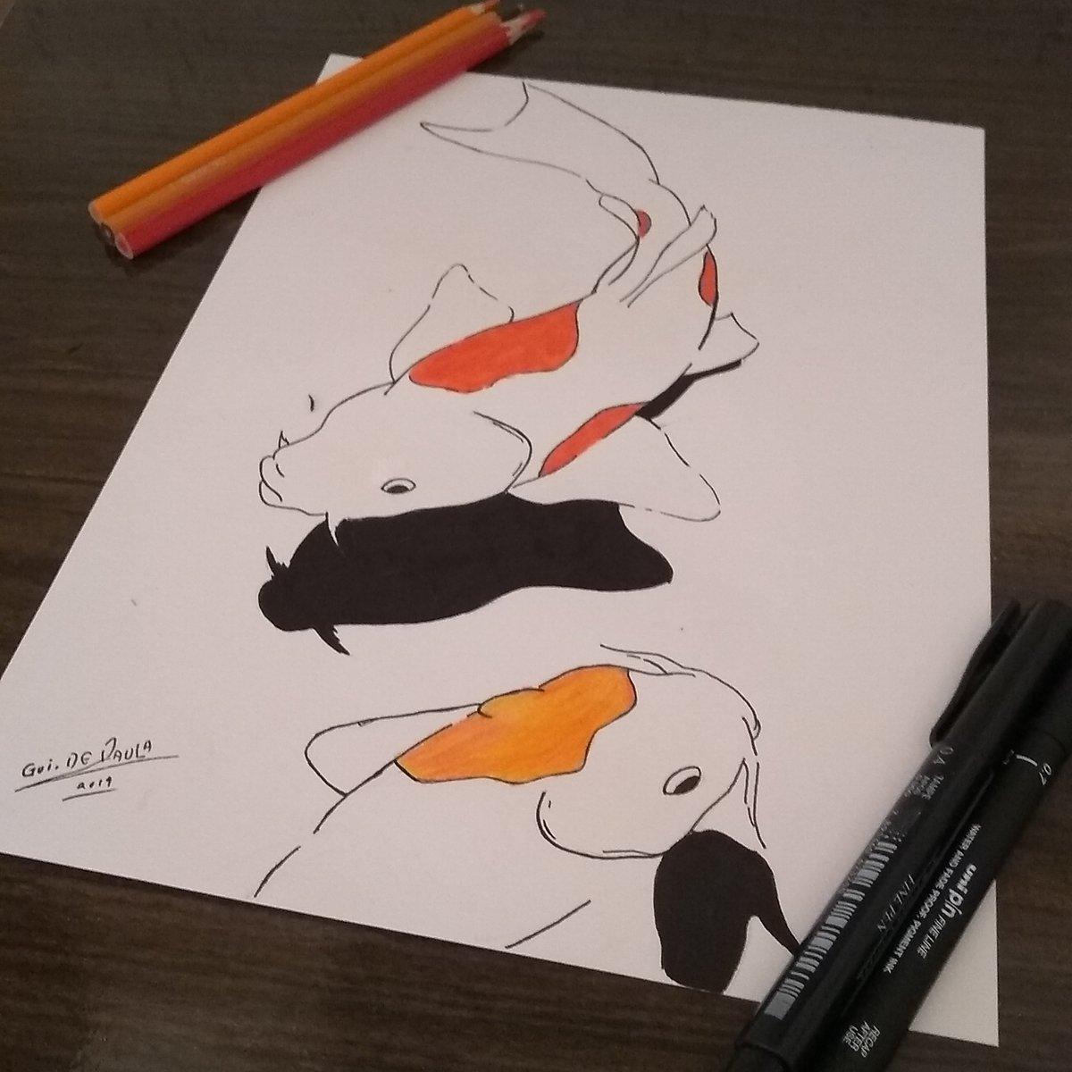 Peixe  #desenhocolorido #desenho #desenhodeumanimal #artfinalpic.twitter.com/5r7YxfaFMn