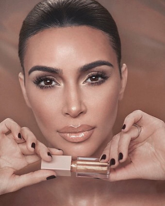 The @kkwbeauty  Glitz & Glam Collection — Gold Sparkle is one of my all-time favorite glosses! Shop it now at  http://KKWBEAUTY.COM