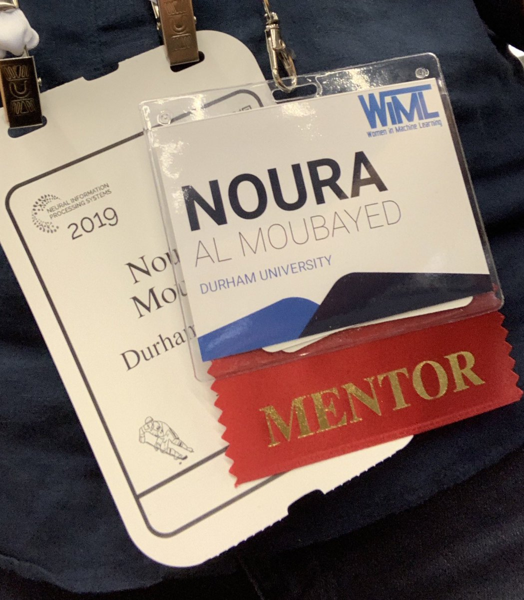 Had a brilliant time today mentoring and talking to many inspiring women @WiMLworkshop #NeurIPS2019 @comp_sci_durham