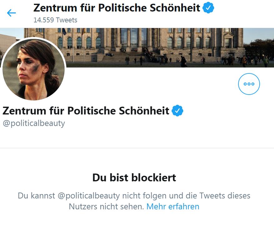 """Ich glaube, es wird Zeit, dass @GeorgDiez1 seinen Kumpel Philipp Ruch vom """"Zentrum für politische Schönheit"""" mal zur Seite nimmt. Wer als Linker glaubt, dass er besser als die Juden weiß, was Antisemitismus ist, kann jeden freundschaftlichen Rat gebrauchen."""