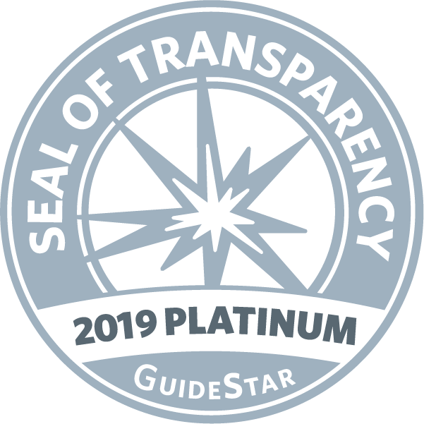 We are proud to have earned a 2019 Platinum Seal of Transparency, the highest level! Check out our updated GuideStar #NonprofitProfile: https://t.co/Eh0UKo83iv. (Now part of @CandidDotOrg) https://t.co/EPEEyrSQHN