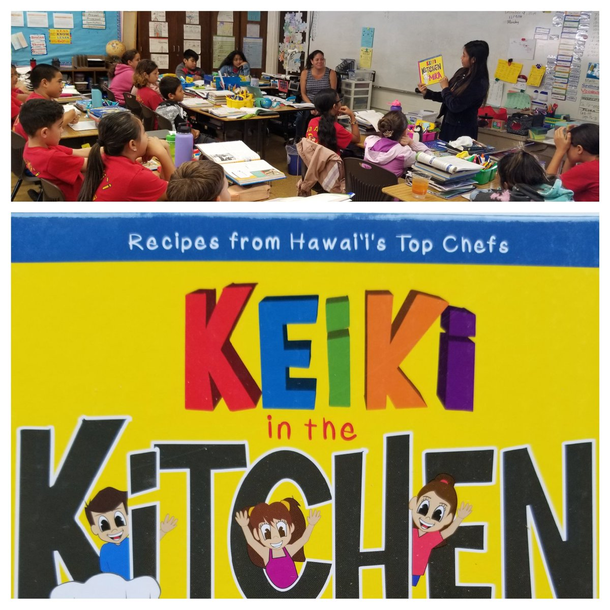 Mahalo Hawai'i Agriculture Foundation for sharing your cookbook with our keiki and their families!  #WhereDoesYourFoodComeFrom #LocalAgriculture #Sustainability @CASKeone @HIDOE808pic.twitter.com/i2oZ51IWn8