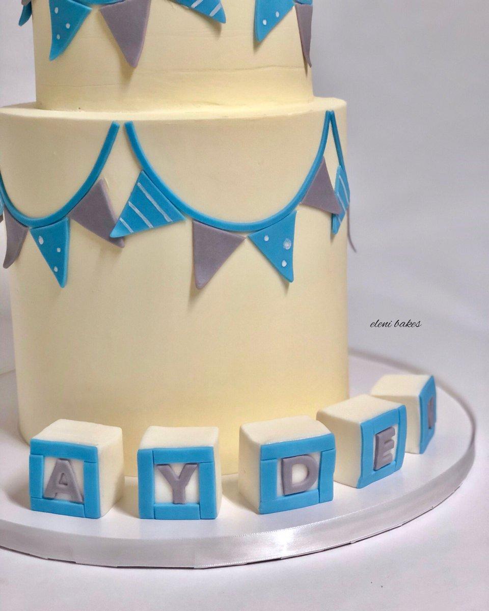 Incredible Eleni Bakes On Twitter Elephant Babyshower Cake Personalised Birthday Cards Vishlily Jamesorg