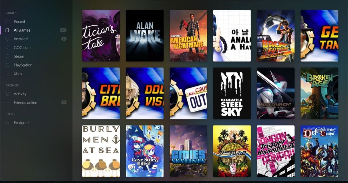 GOG's Galaxy 2.0 game launcher is available without an invitation