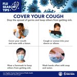 Image for the Tweet beginning: Cover your cough. When sneezing