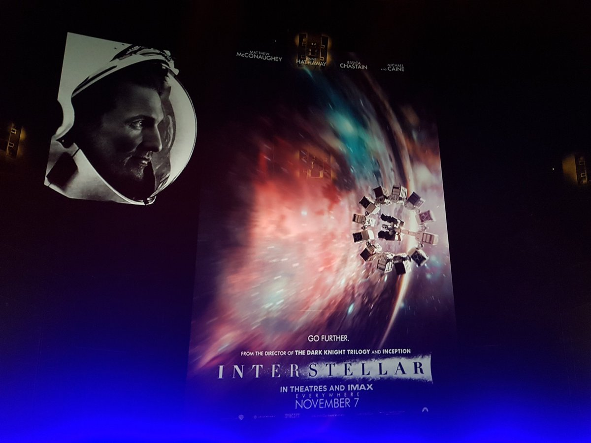 Watching Interstellar in IMAX 70MM is easily the best cinematic experience I've had. <br>http://pic.twitter.com/ZtVHESyPPq