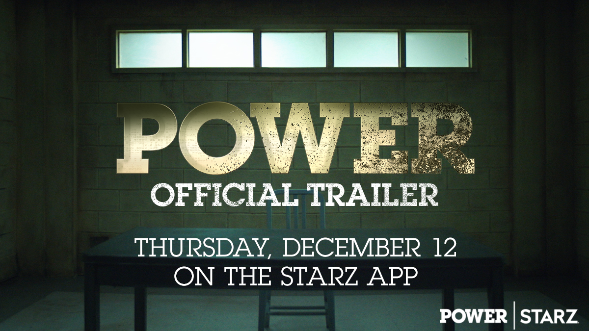 Brace yourselves. The official trailer for Power's final episodes drops THURSDAY on the @STARZ App. #PowerTV