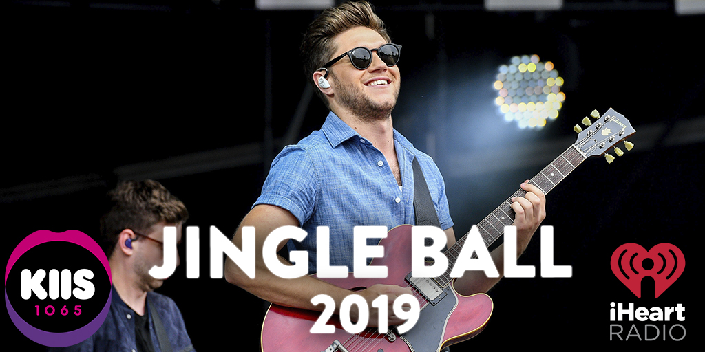 KIIS' 2019 #iHeartRadio Jingle Ball has a MEGA star lineup! @taylorswift13 @jonasbrothers @Camila_Cabello @halsey @NiallOfficial @lizzo and MORE!  This weekend we bring the #iHeartRadio app alive direct from NYC! Hear it live #KIIS1065 #KeepKIISLoud<br>http://pic.twitter.com/f49S2s7cmR