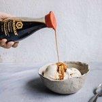 この広告間違ってない?フィンランドのキッコーマンの広告でバニラアイスに醤油をかけてしまう!