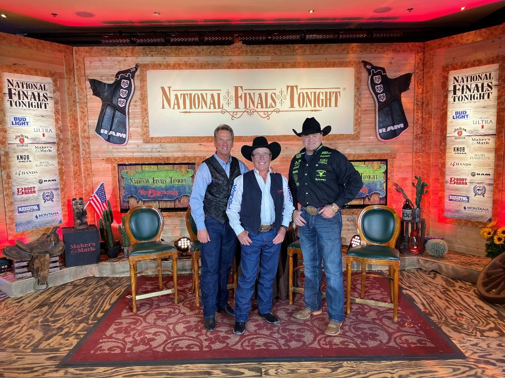 Can you name these three hosts of the best recap in town, The National Finals Tonight Show?! See them every night in the Honky Tonk Saloon at the @orleanscasino, after the #NFR! https://t.co/MQqKpkxtGn