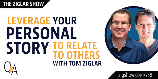 Today, we hear Zig's story and talk about the power of personal narrative for our own life, and for those around us. Before listening, ask yourself: How do you leverage your personal story to relate to others? Tune in here:
