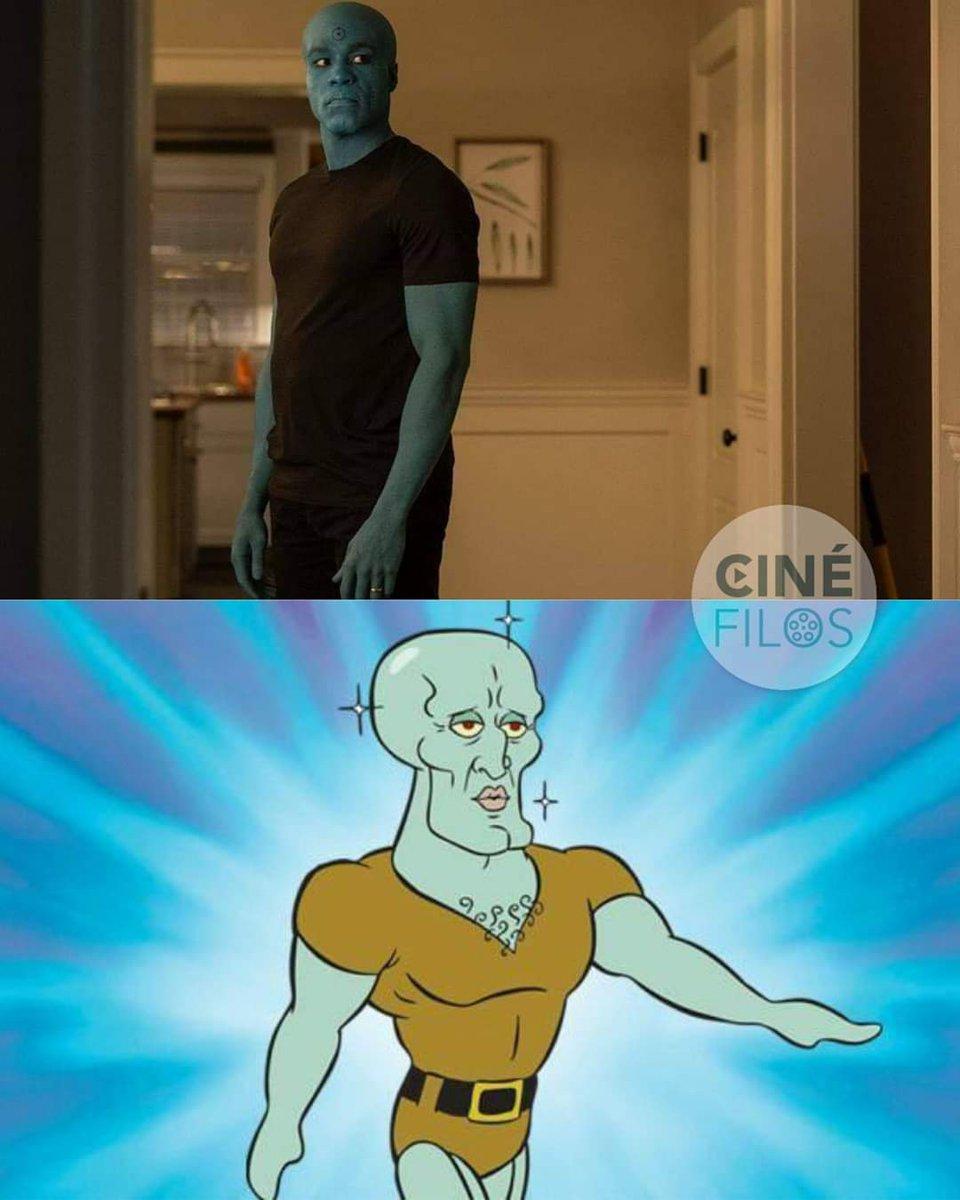Image result for watchmen squidward meme