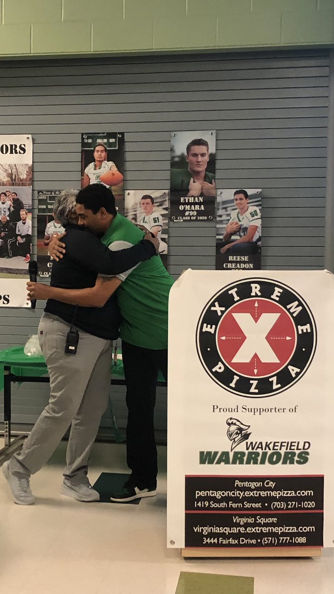Wayne Hogwood, National District Coach of the Year, says thank you to Ms. Noel Deskins <a target='_blank' href='http://twitter.com/WakeAthletics'>@WakeAthletics</a> for her many years of service to The Warrior Nation. You will be missed and never forgotten. <a target='_blank' href='https://t.co/Yo3b1ylAjd'>https://t.co/Yo3b1ylAjd</a>