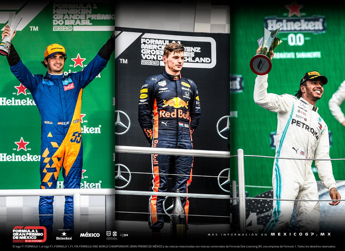 ¿Cuál fue tu carrera preferida de este año? A nosotros nos gustó mucho el #BrazilGP, el #GermanGP y obvio el #MexicoGP. 🏎 Dinos qué Gran Premio fue el que más te gustó. ⬇  #F1