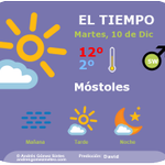 Image for the Tweet beginning: Hoy martes en #Móstoles esperamos
