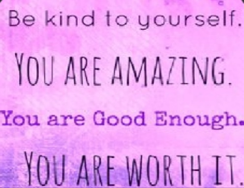 Don't let anyone tell you that you are not good enough. You are more than enough. #CometTalk_ #youareamazing <br>http://pic.twitter.com/SgO0yizRcG