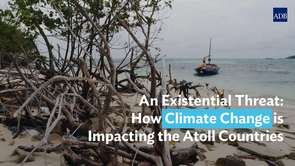 WATCH: For people in the atoll countries, their homes and livelihoods are already being washed away by rising ocean levels caused by #climatechange. #risingseas #globalwarming #COP25