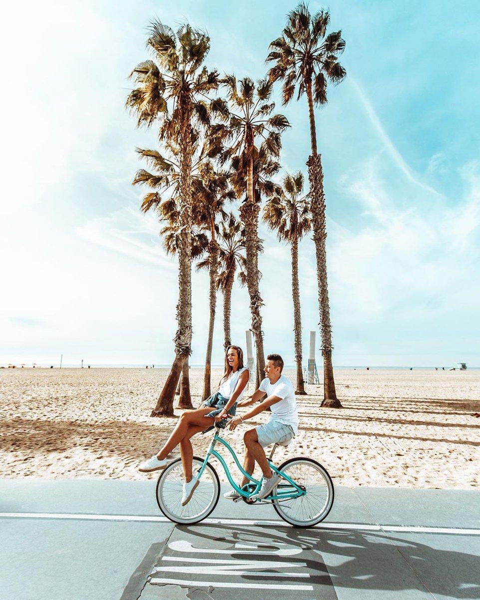 Be the star of your own rom-com as you bike down the picturesque Santa Monica Bay.  credits: @lovelifepassport Follow our IG now http://bit.ly/MayflowerIG  #MayflowerHolidays #MayflowerMemories #lifestyle #beach #goals #LA #SantaMonica #couplegoalspic.twitter.com/XuzGw1WXrn
