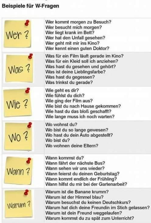 #QuestionWords #Fragewörter #WFragen #Interrogatives #GermanGrammar #Grammatik #GermanVocabulary #Wortschatz #LearnGerman #DeutschLernen #Deutsch #Deutschland #LearnANewLanguage #DaF #Germany #German #Language #ForeignLanguages #DeutschMachtSpass #LearningGermanIsFun #TGLSpic.twitter.com/TsOkzTs6ZR