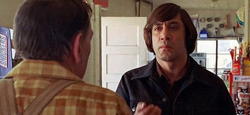 #One of the #Coolest #Villains ever #Cold #Calculating #Chilling in a #Calm manner #BadAss #AntonChigurh #Callit