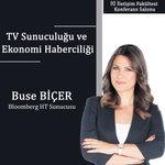 Image for the Tweet beginning: Bloomberg HT Sunucusu Buse Biçer,