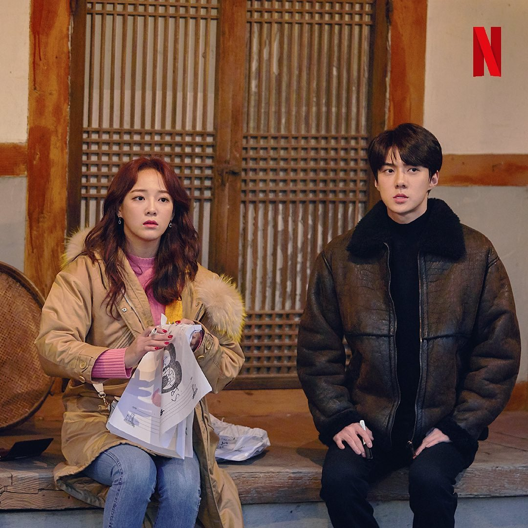 Hahaha they were both scared  @weareoneEXO #Busted2 #SEHUN #sejeong<br>http://pic.twitter.com/T1x8TfXlP8