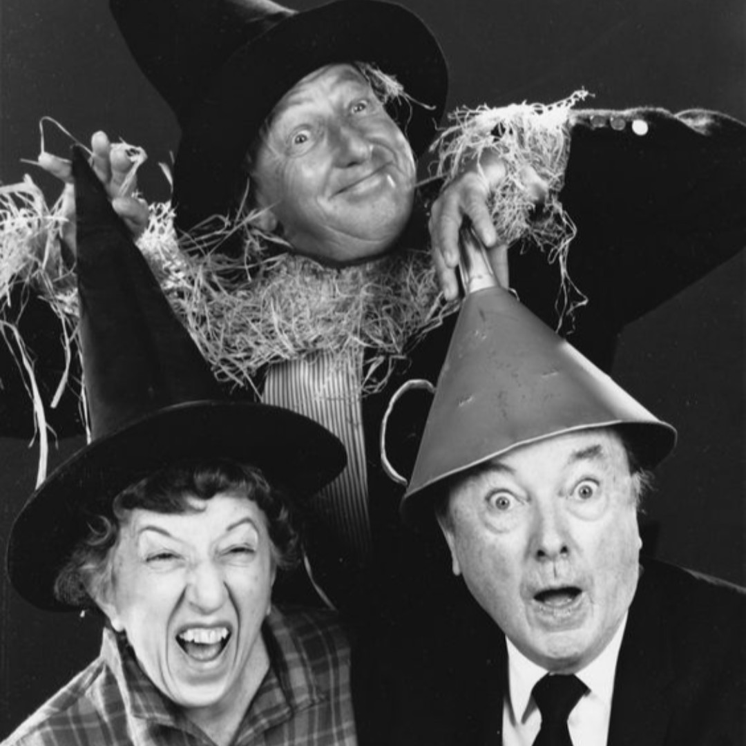 The Witch, The Scarecrow and The Tin Man... Margaret Hamilton, Ray Bolger & Jack Haley...