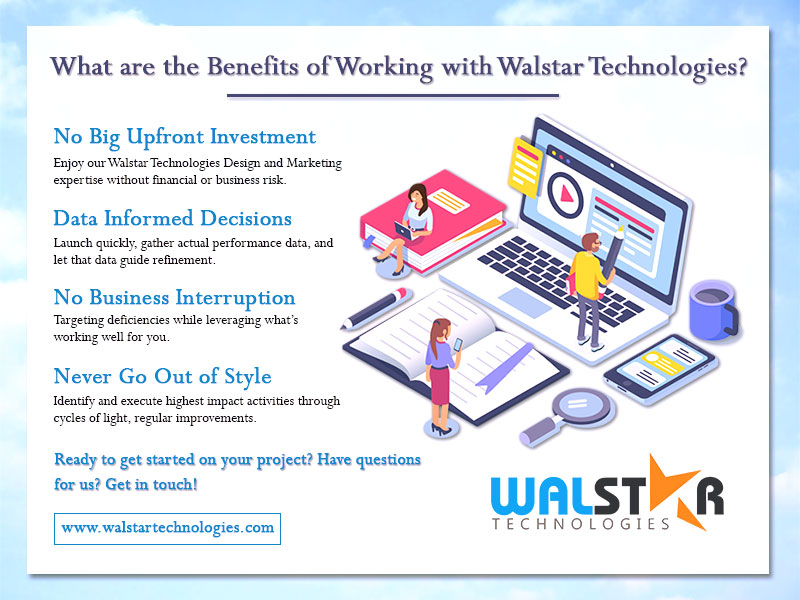 What are the Benefits of Working with @Walstar_techno ?  #websitedesigndevelopment #webdevelopment #websitedesigner #webdevelopmentcompanyinindia #websitedesigns #websitedesigningcompany #websitedesignservice #ecommercewebsitedesign #designwebsite #business #walstartechnologies<br>http://pic.twitter.com/UbD4fS0u4D