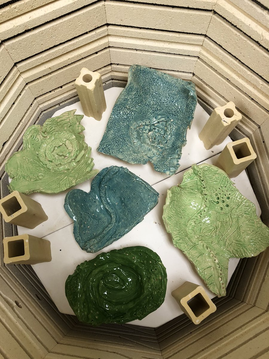 Love opening the kiln the next day to see the beautiful 3rd grade clay pieces inspired by texture in nature <a target='_blank' href='http://twitter.com/longbranch_es'>@longbranch_es</a> <a target='_blank' href='http://twitter.com/APSArts'>@APSArts</a> <a target='_blank' href='https://t.co/vF2FN87Vo1'>https://t.co/vF2FN87Vo1</a>