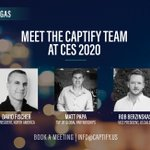 Before you head off for the holidays, get in touch and book a meeting at @CES with the @Captify team so you can hit the ground running in 2020 #Captify #CES2020