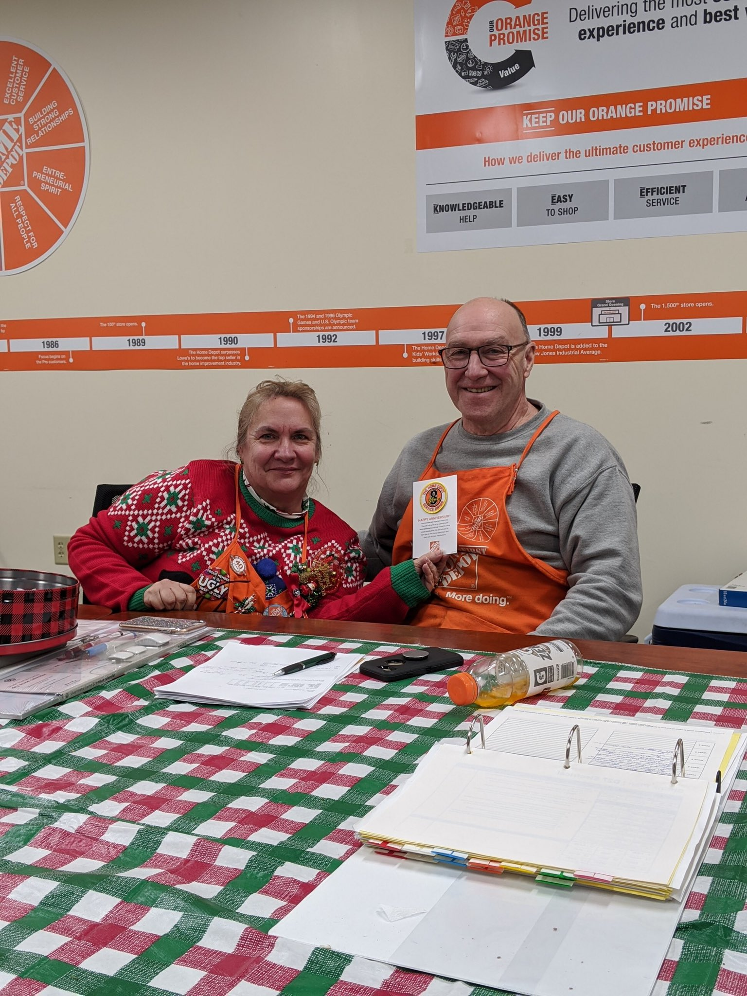Home Depot 3486 On Twitter Great Things Happening At 3486 Dh D78 Mickey Hit His 8 Th Year With Hd Dh D26 Rhonda Is Officially Certified In Her Dept And Dh D90 Tracy