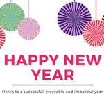 Image for the Tweet beginning: Happy New Year to all!! #academicmedicine