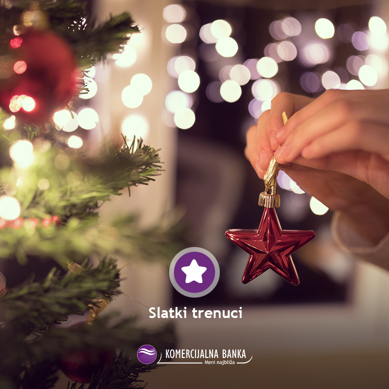 Pronašli ste savršene dekoracije za vašu novogodišnju jelku? 👌🎄 Uživajte u slatkim trenucima i učinite vaš novi dom posebnim  - http://bit.ly/KBBLstambenikredit… 🤩💜