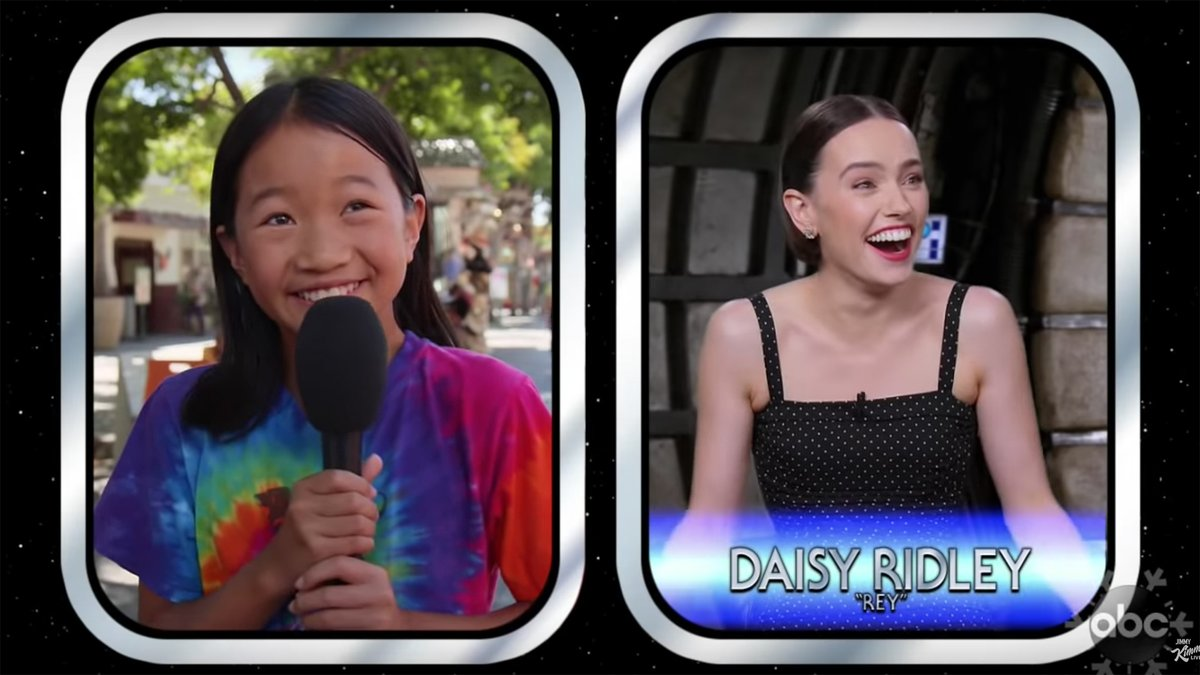 The Star Wars cast answering the big questions from little kids is adorable