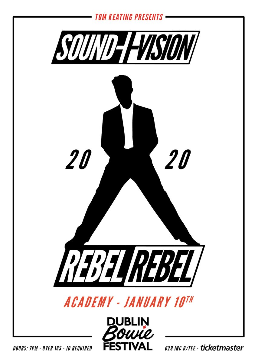 Don't miss @RebelRebelIrel when they play the Academy on 10th January Tickets on sale now from @TicketmasterIre