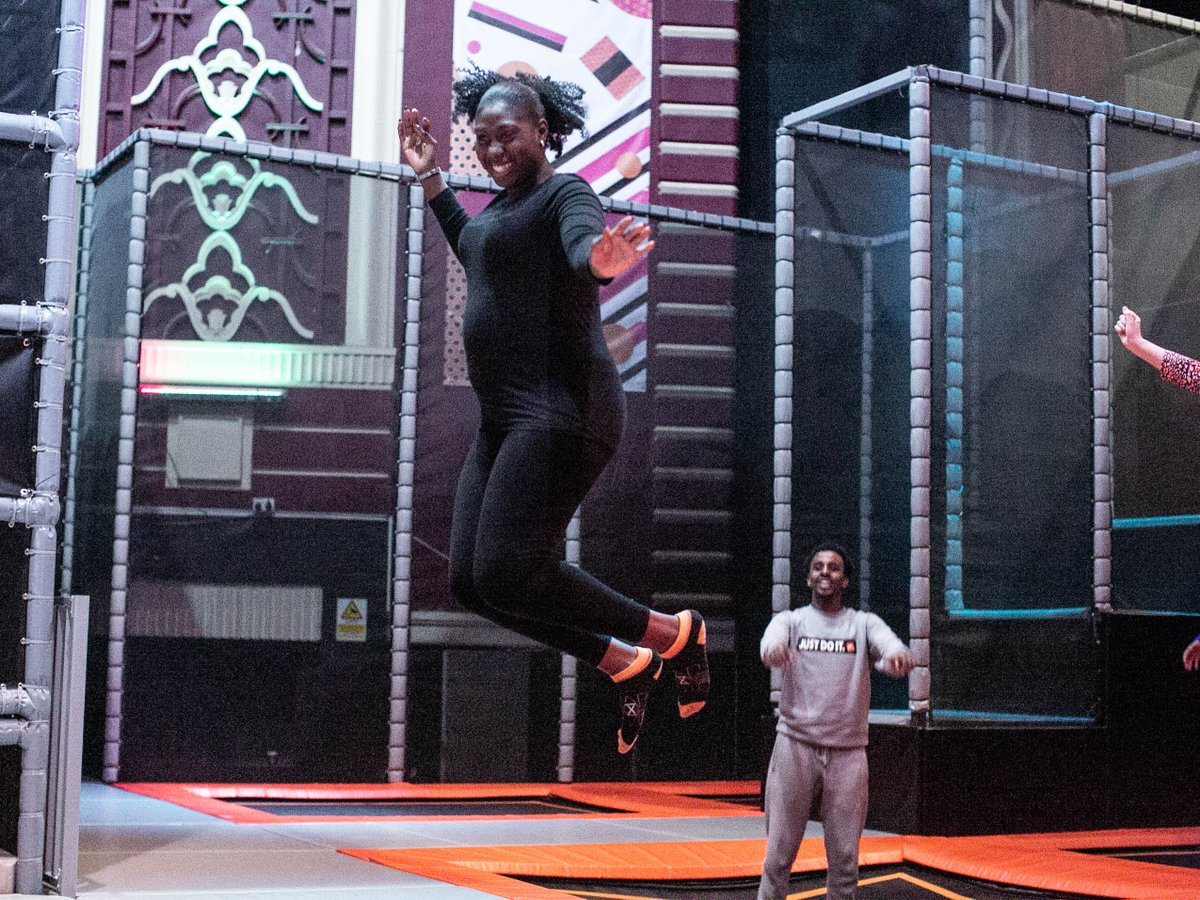 If you're back home from uni for Christmas why not grab your home mates (and your student card!) and come along for a half price bounce! Any weekday Freestyle Jump session is only £6 🤸♂️   #students #freshers2019 #university